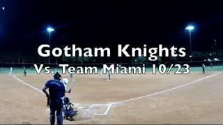 highlights Gotham Knights vs team Miami 10-23