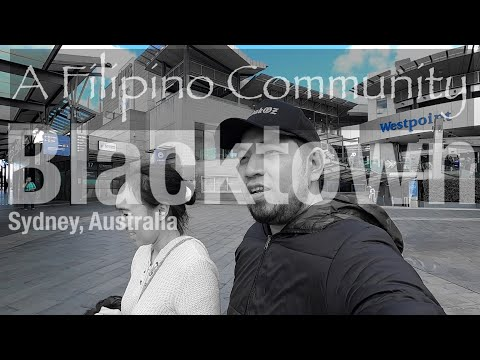 BLACKTOWN - A FILIPINO COMMUNITY IN SYDNEY AUSTRALIA