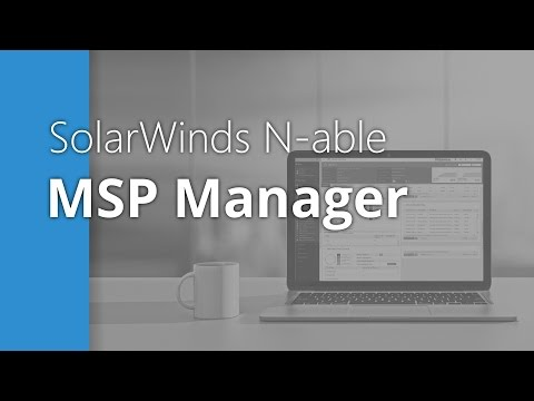 MSP Manager - Billing Overview