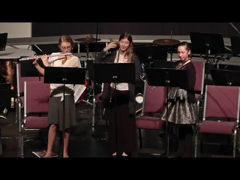 Santiam Christian Schools 2015 Christmas Program - Flute Prelude