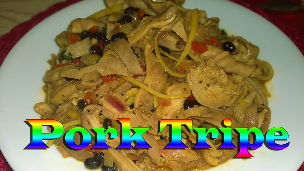 How to cook Pork Tripe - YouTube
