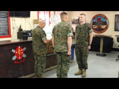 PFC Zachary Dillehay Navy and Marine Corps Achievement Medal