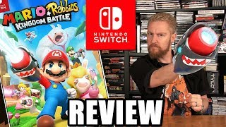 Mario + Rabbids Kingdom Battle REVIEW - Happy Console Gamer
