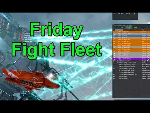Friday Fight Fleet - EVE Online Live Presented in 4k