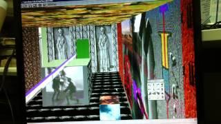 Avi Rosen Virtual Reality Internet Interactive 3D art gallery 1996 mute