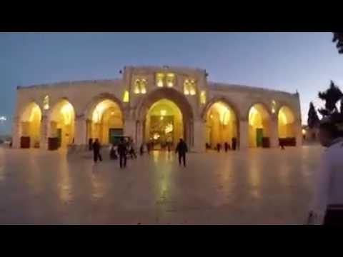 Streets leading to Al aqsa masjid