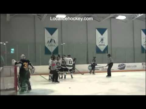 Justin Plate scores from Michael Freeman and Mike Nolan for Fresno Monsters 10/20/13