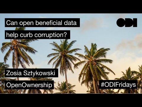 Friday Lunchtime Lecture: Can open beneficial data help curb