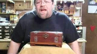 Vintage Puzzle Box #10 ~ Solution
