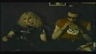 A clip of the classic heroin interview with Sid & Nancy.