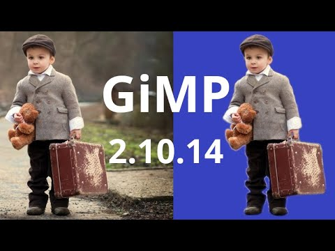 How to Remove Picture Background GIMP 2020   Gimp 2.10.14 Take an Element From Photo