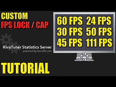 How to Lock / Cap your FPS in Games - Custom FPS Lock / Cap