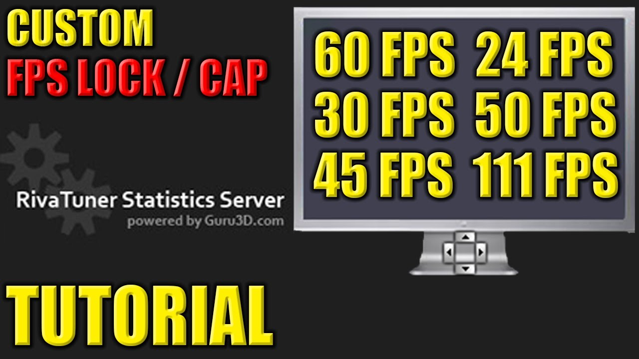 How to Lock / Cap your FPS in Games - Custom FPS Lock / Cap Tutorial - FPS  Limit
