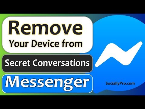 How To Remove Device From Secret Conversations On Messenger