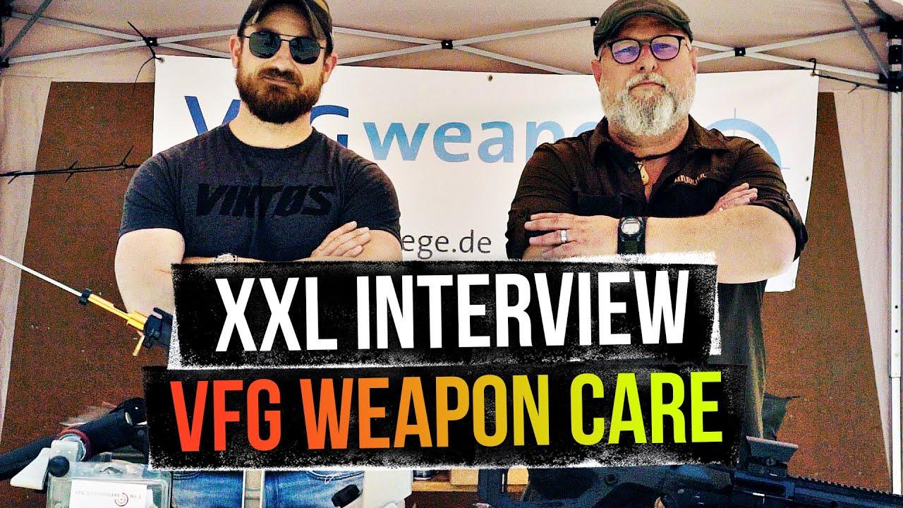 XXL Interview mit dem Laufreinigungsexperten von VFG - Hera Arms Steel Nightmare 2020