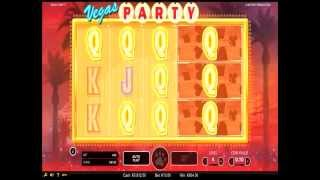 Vegas Party Slot by NetEnt GamePlay Video