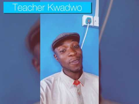 Teacher Kwadwo proposes to Yvonne Nelson😂😂😂