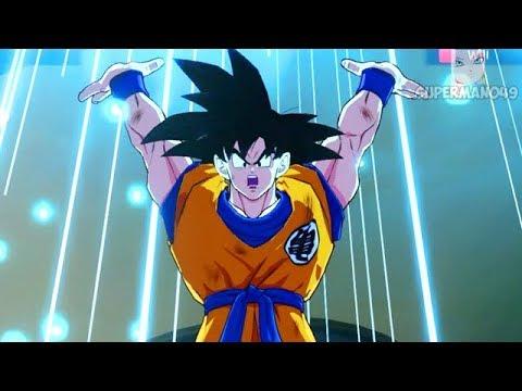 GOKUS SPIRIT BOMB MAKES HIM RAGE QUIT Dragon Ball FighterZ Base Goku & Base Vegeta Gameplay