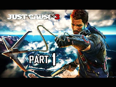Just Cause 3 Walkthrough Part 1 - Welcome Home Rico (PC Ultra Let's Play Commentary)