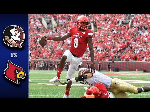 Florida State vs. Louisville Football Highlights (2016)