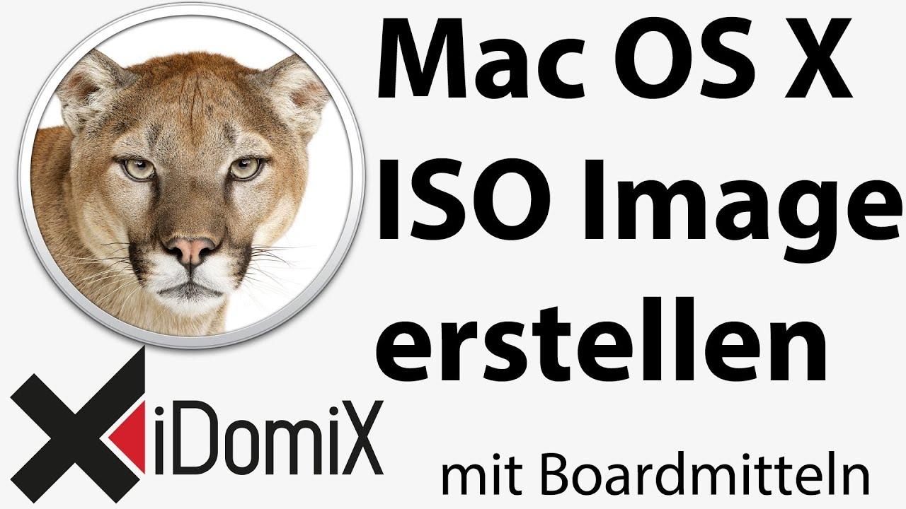 windows iso image erstellen mac