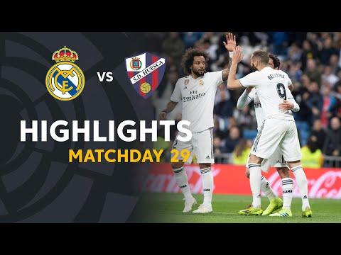 Highlights Real Madrid Vs SD Huesca (3-2)