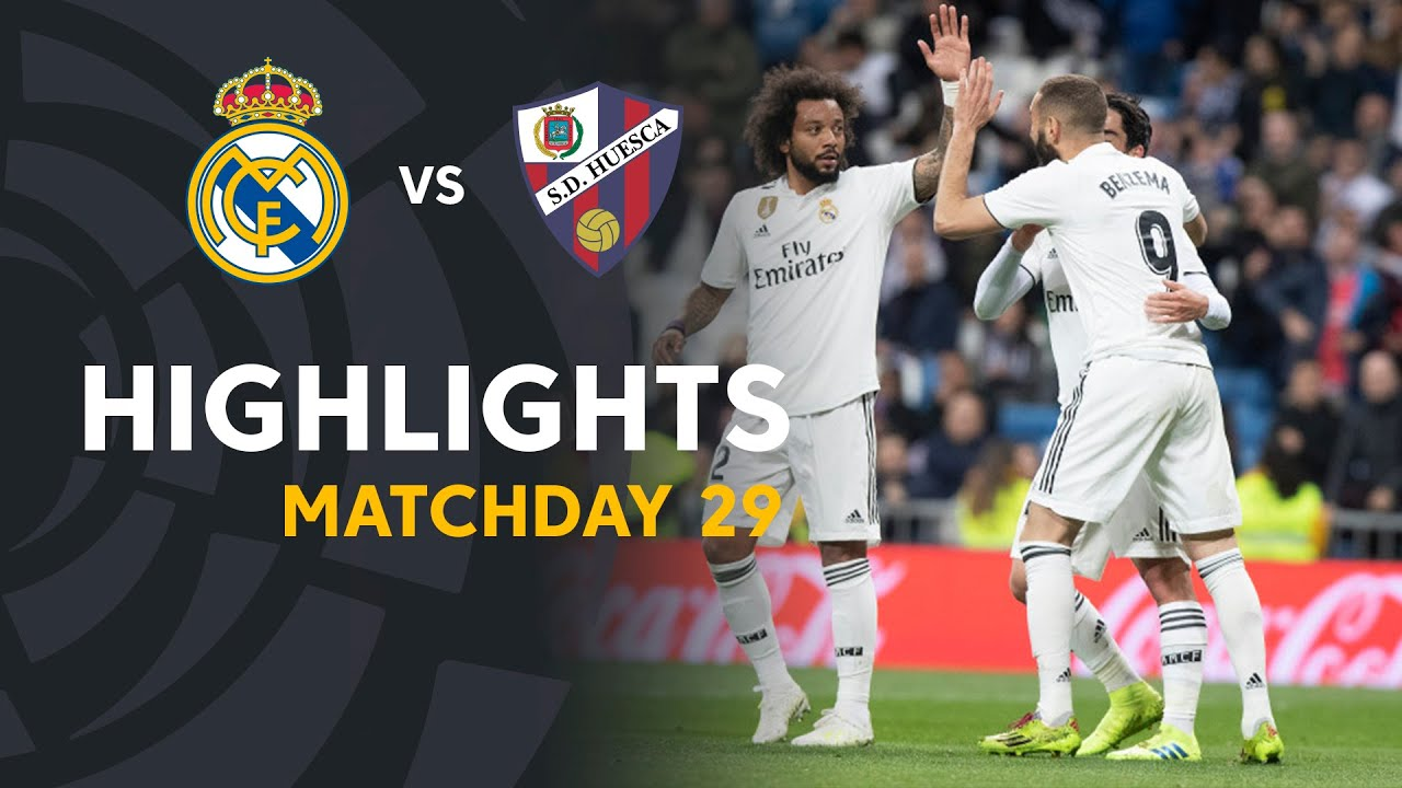 Download Highlights Real Madrid vs SD Huesca (3-2)