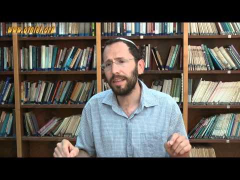 Nismat HaMishna - shiur no. 4: ' Spontanious and Formal Prayer' - Rabbi Yakov Nagen