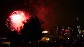 Macy's 4th of July fireworks finale at Brooklyn Bridge Park 2015 New York City HD 1080p