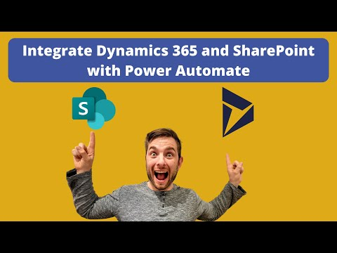 How to improve the integration between Dynamics 365 and SharePoint using Power Automate