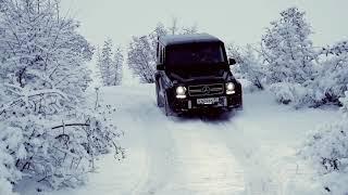 Гелик зимой под красивую музыку