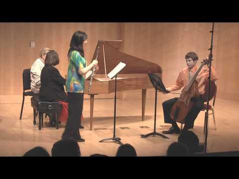 Laurel Ann Maurer, flute - Johann Sebastian Bach - Sonata in E-flat Major