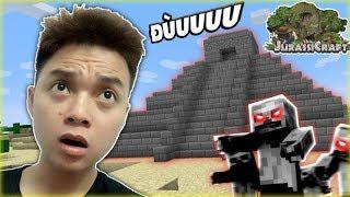 Minecraft Vua Khủng Long #5 : Đền Thờ Vua Zombies Và Quái Vật Hai Đầu !