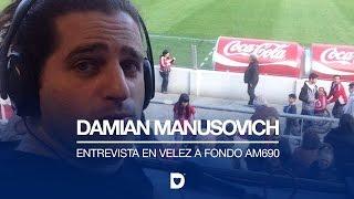 "Manusovich ""Christian respira Vélez"""