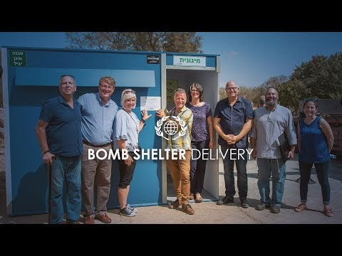 Israel In Crisis  Bomb Shelter Delivery