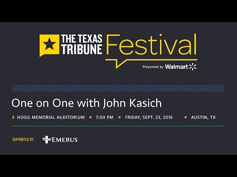 One on One with John Kasich
