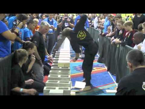 2014 Board Breaking World Record at US OPEN with Master Jonathan Field