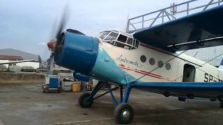 Antonov AN-2: long way to start radial engine after approximately one month of sitting
