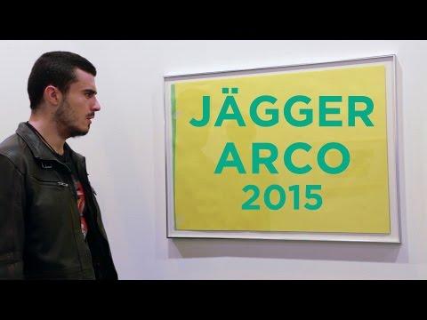 Míster Jägger crea arte en Arco 2015