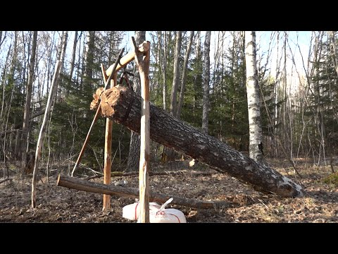 Primitive Survival Trap The Feather Spear Trap