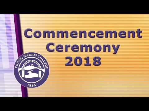 Young Harris College Commencement 2018