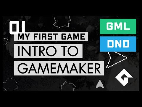 My First Game - Intro To GameMaker - Space Rocks (Part 1)