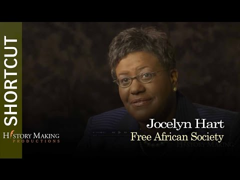 Jocelyn Hart on The Free African Society