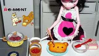 Re-ment Rilakkuma Homemade Cooking & Display Case - Miniature Toys Unboxing/review