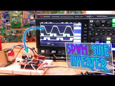 SPWM Sine INVERTER With Arduino