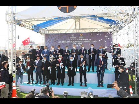Bakan Karaismailoğlu Adıyaman'da köprülü kavşağın açılışını yaptı
