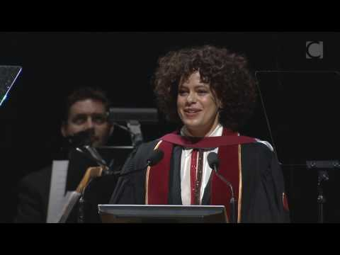 Régine Chassagne, 2016 Concordia Honorary Doctorate