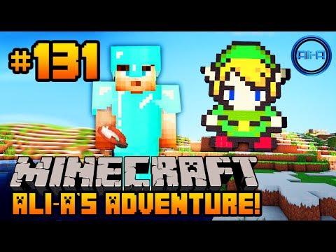 "Minecraft - Ali-A's Adventure #131 - ""LEGEND OF ZELDA!"""