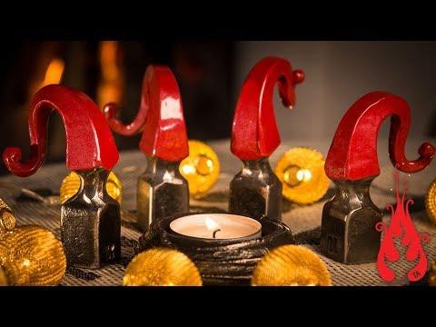 Blacksmithing - Forging a Christmas gnome