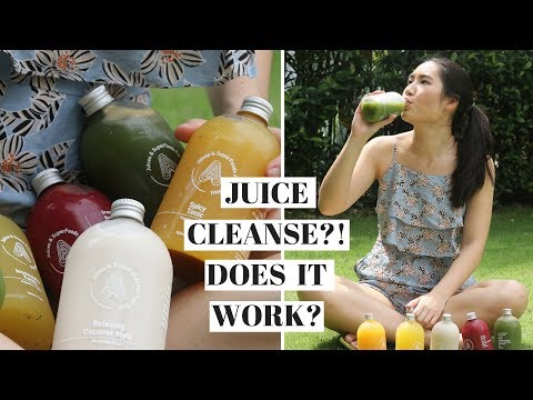 Lazy Girl Tries It 😱 OMG?! 1st Time Juice Cleanse ❤️ DOES THIS THING WORK?! ft. Antidote Sg